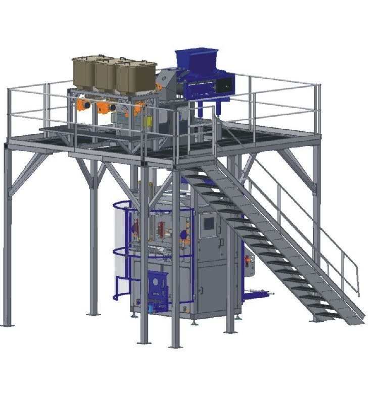 Bagging System Ffs Double Bag Vertical
