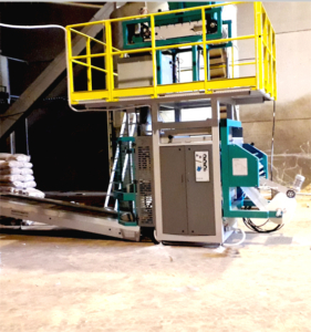 automatic bagging machine for pellets